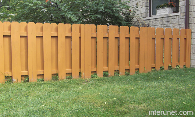 Low Wooden Fence Staxel: Wood Fence Low Picture