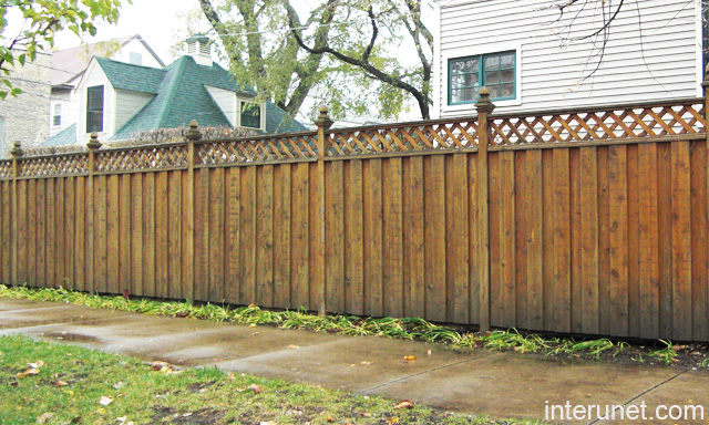 Diy simple wooden fence designs plans free for Simple fence plans