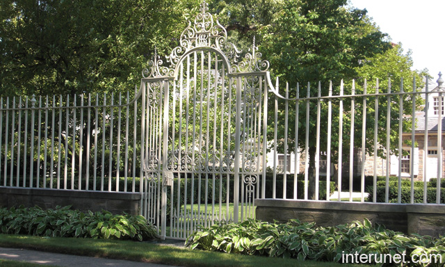 White Iron Fences Joy Studio Design Gallery Best Design